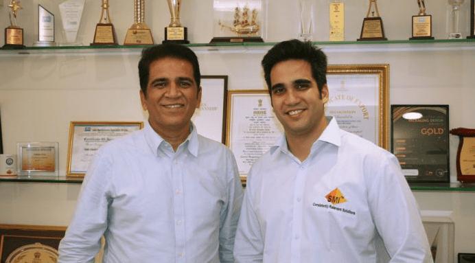 SMI directors Ajay Mehta and Rohit Mehta